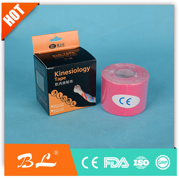 5cmx5m Rehabilitation Therapy Supplies Properties Kinesio Sports Tape
