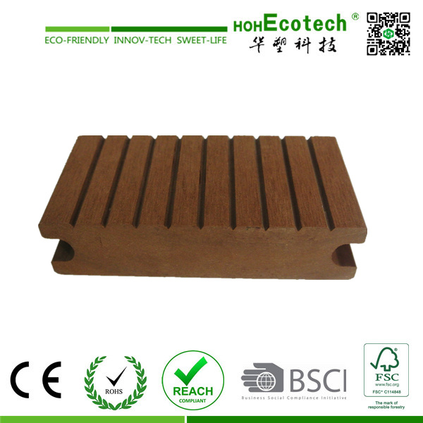 Easy Installation WPC Decking (with clips and end cover)