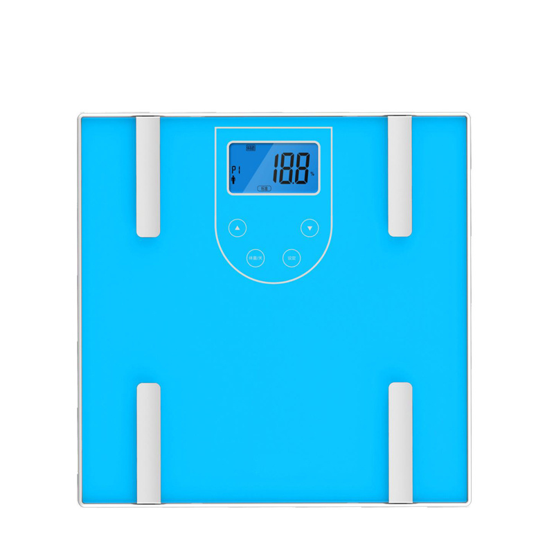 Electronic Body Fat Scale with Large Glass Platform