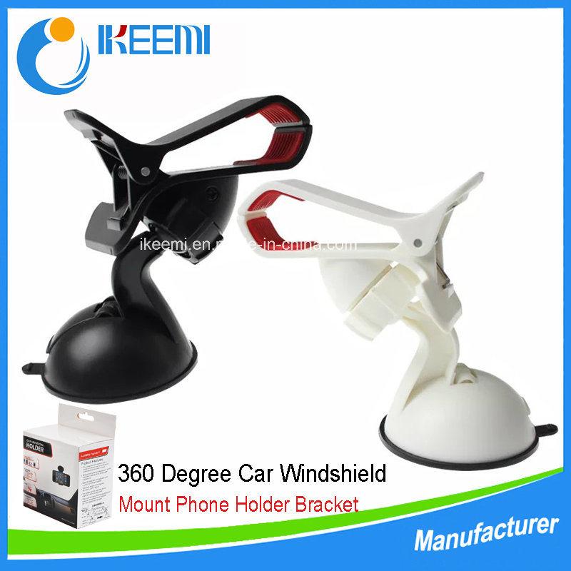 Universal Phone Cradle Windshield Car, 360 Degree Windshield Mount