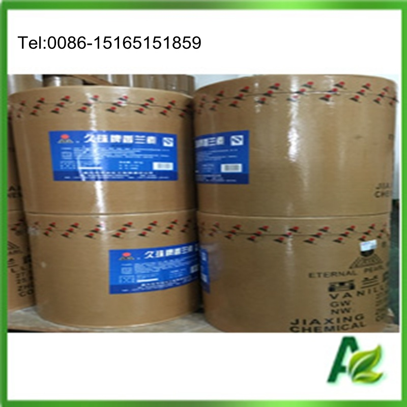 Food Flavouring Powdered Vanillin Ethyl Vanillin 99.5%