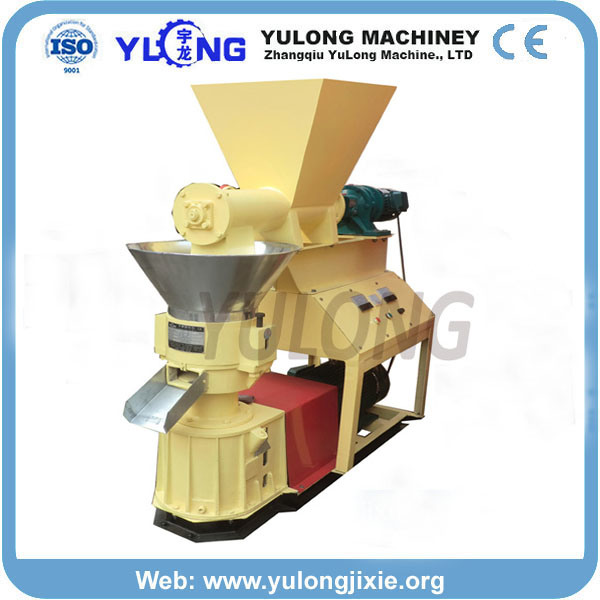 Flat Die 300-500 Kg/Hour Pine Wood Sawdust Pellet Mill