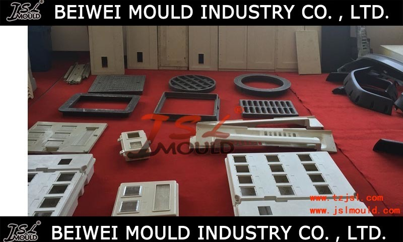 Custom SMC Roof Tile Compression Mold