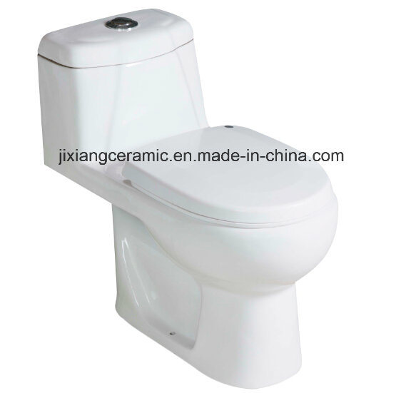 Washdown Bathroom Wc Closet One-Piece Toilet