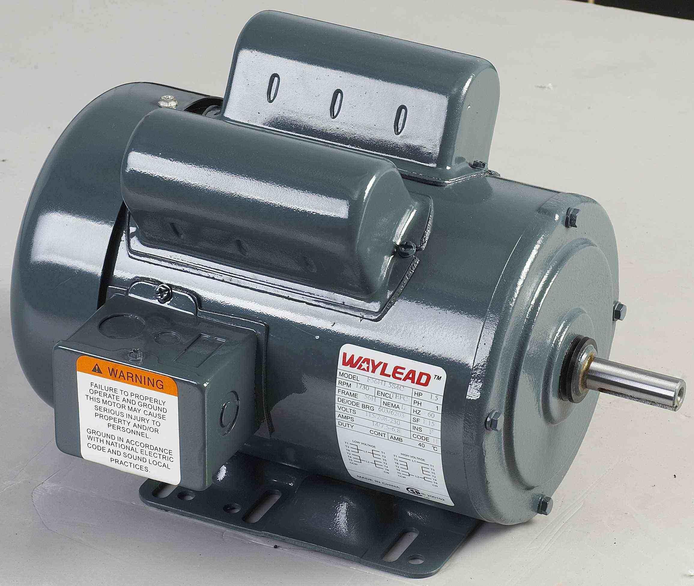 China single phase start run capacitors ac nema motor for 1 phase ac motor