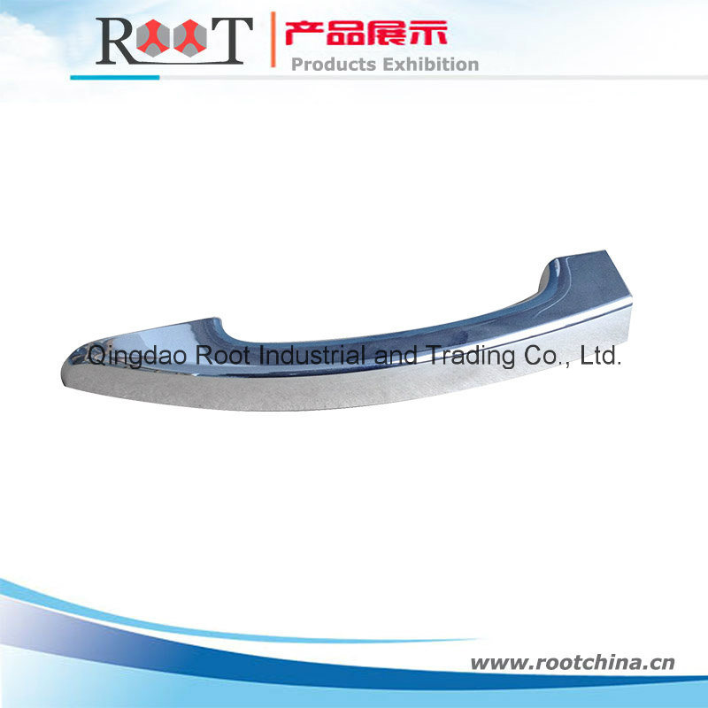 Nylon Plastic Injection Moulding Products with Matte Chrome Plating Finish