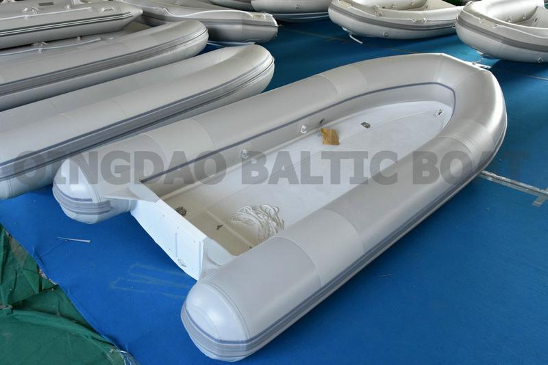 Fiberglass Double Floor with PVC Pontoon 370 Rib Tender for Yatchs