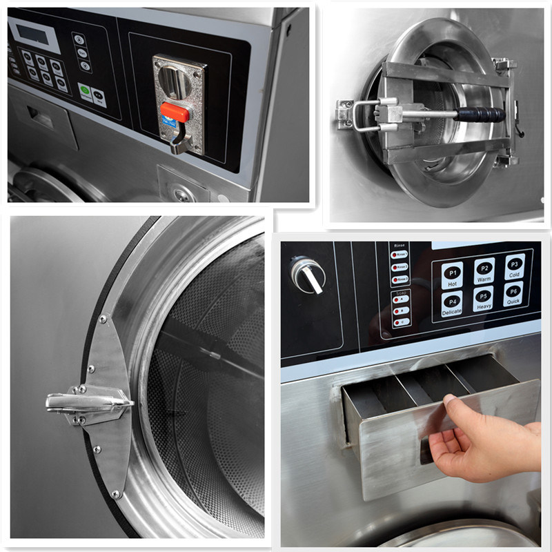 Self-Service Coin Operated Laundry Equipment