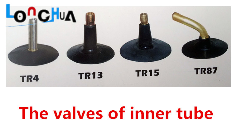 Natural Rubber Motorcycle Inner Tube (4.00-8)
