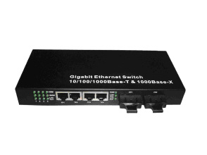 Gige Fiber on 1000m Gigabit Ethernet Fiber Switch 2fx 4tp   China Gigabit Fiber