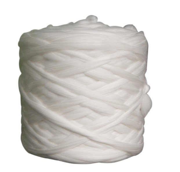 3D*88mm Raw White 100% Virgin Polyester Tops for spinning