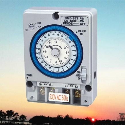 New Develop Programmable Mechanical Timer Switch (TB-35B)