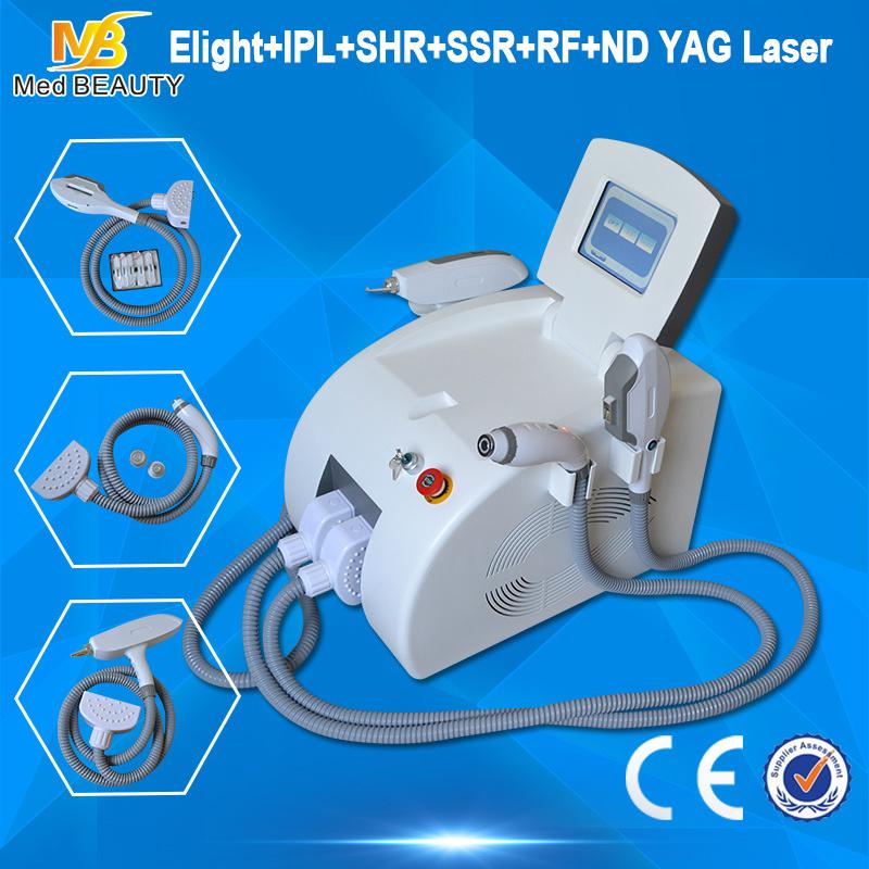 Multifunctional Laser Tattoo Removal Elight+IPL+RF+ND YAG Laser