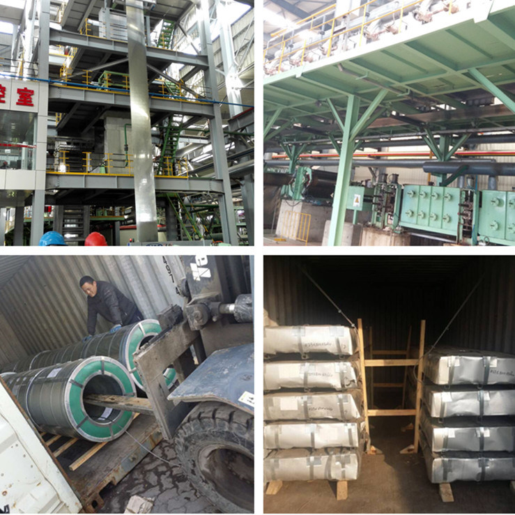 PPGI Building Material Galvanized Steel Coil for Roofing Sheet (0.12mm-3.0mm)