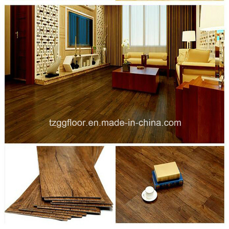 Factory Best Quality Custom Engineered Wood Floor PVC Vinyl Plank Flooring