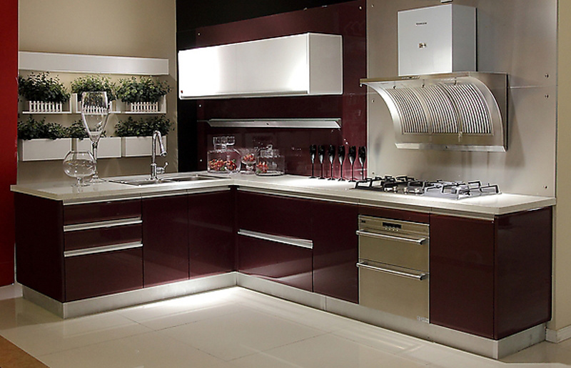 China Lacquer Series Kitchen Cabinet Kitchen Furniture Br