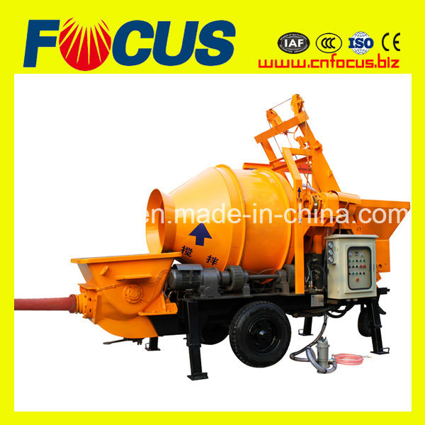 Jbt30 Electric or Diesel Concrete Mixer with Pump