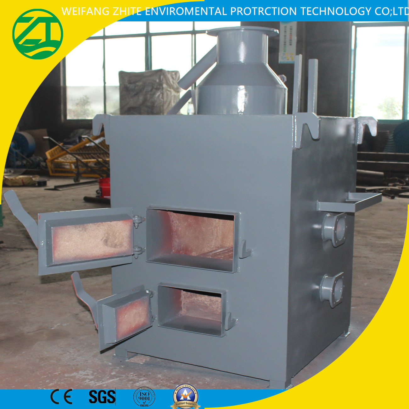 Incinerator Manufacturer for Dead Animal/Living Garbage/Medical /Marine Waste