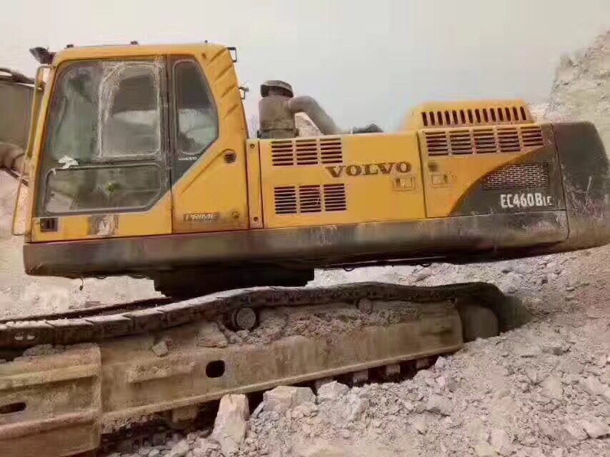 Very Good Working Condition Used Crawler Excavator Volvo Ec460b (made in 2010)