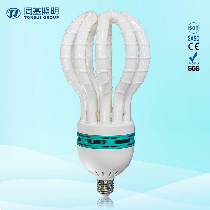 Energy Saving Lamp 150W Lotus Halogen/Mixed/Tri-Color Compact Fluroescent Light Bulb/CFL