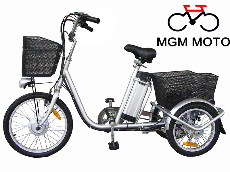 250W Three Wheels Electric Bicycle with En15194