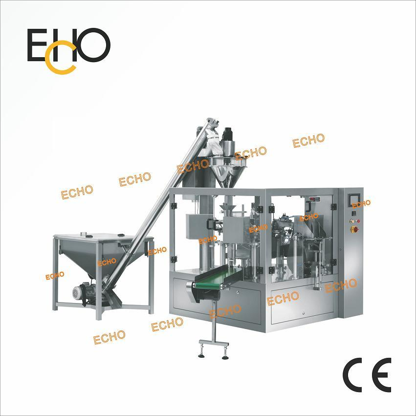 Zipper Bag Packaging Machinery for Powder Milk