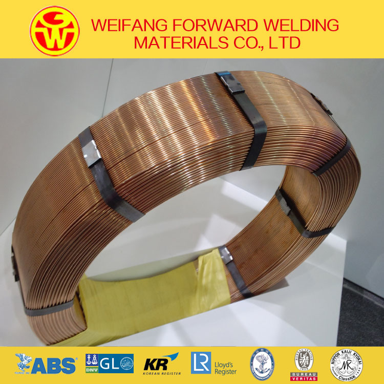 H08A Saw EL12 Submerged Are Welding Wire Welding Product From Golden Bridge Supplier
