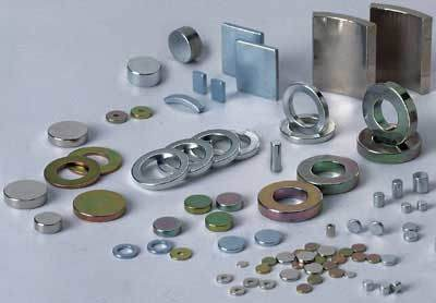 Different types of magnets - Magnents and Electricity