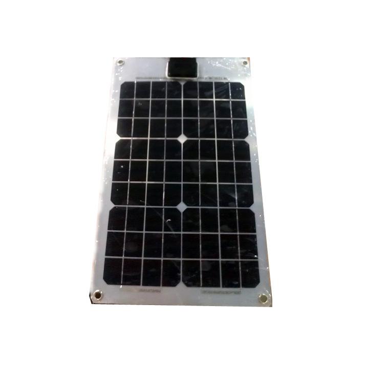 100W PV Semi Flexible Solar Panel for Grid Solar System