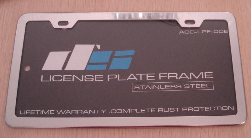 American Standard License Plate Frame