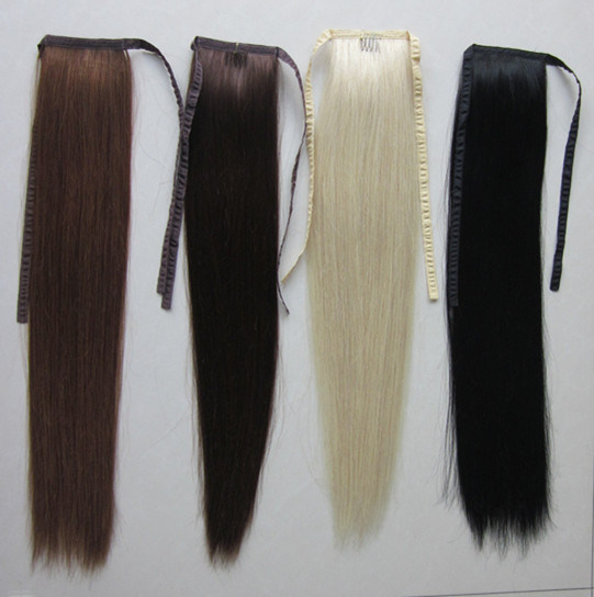 Human Hair Pieces Ponytails 23