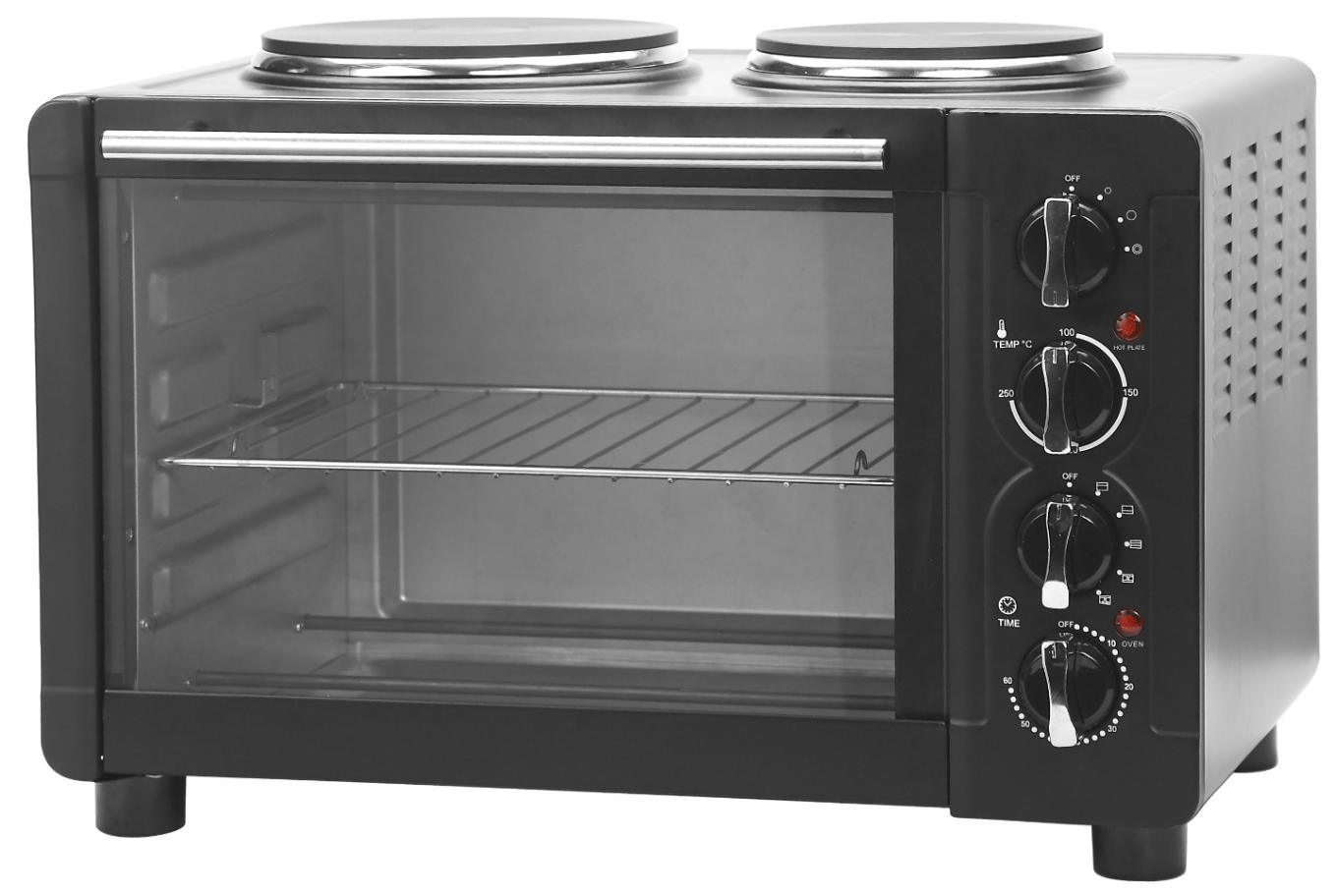 Toaster Oven with Hot Plate (30L)