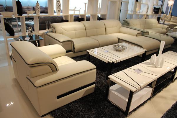 China Italy Leather Sofa TS9919 China Sofa Genuine