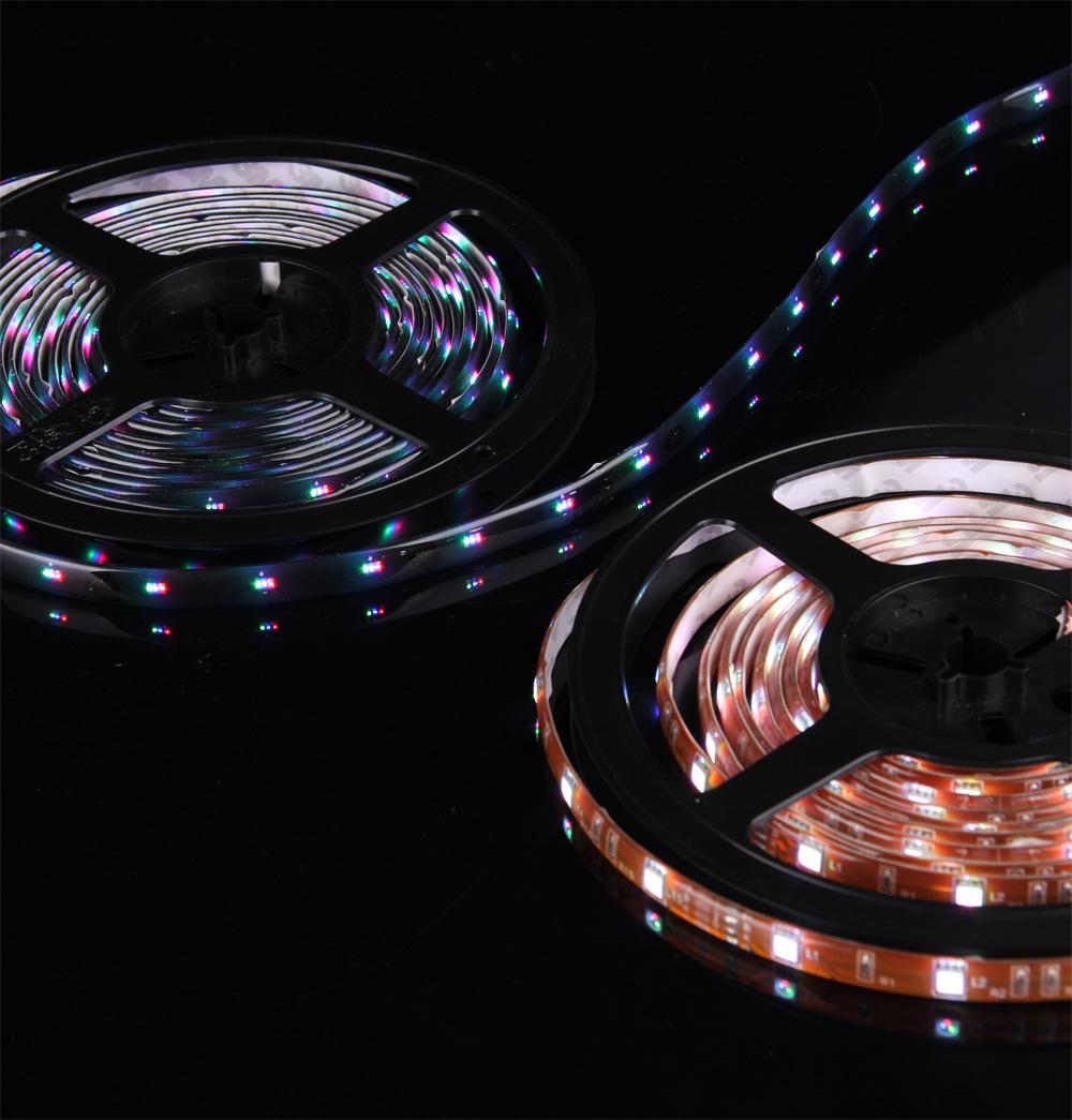 5m 60leds smd5050 3528 waterproof rgb led strip ribbon. Black Bedroom Furniture Sets. Home Design Ideas