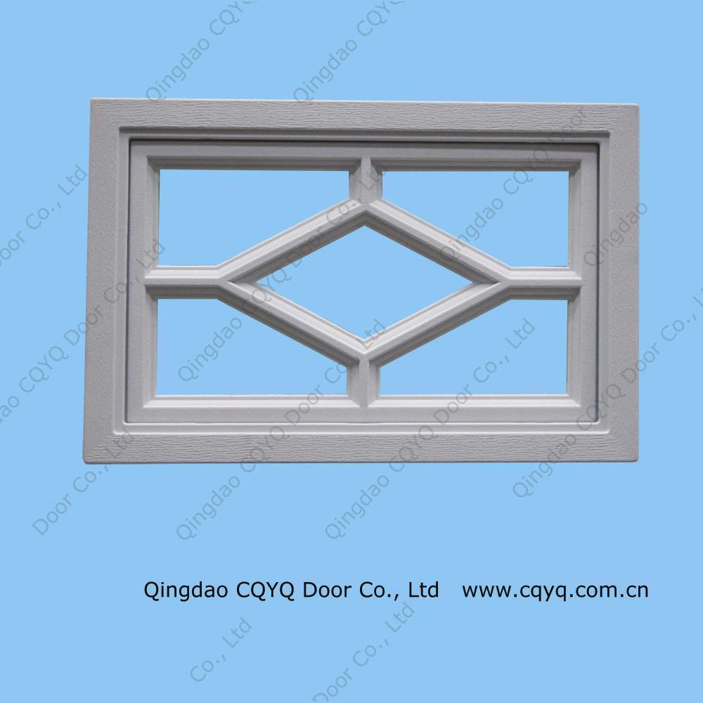 China garage door diamond pattern window china garage for Garage door patterns