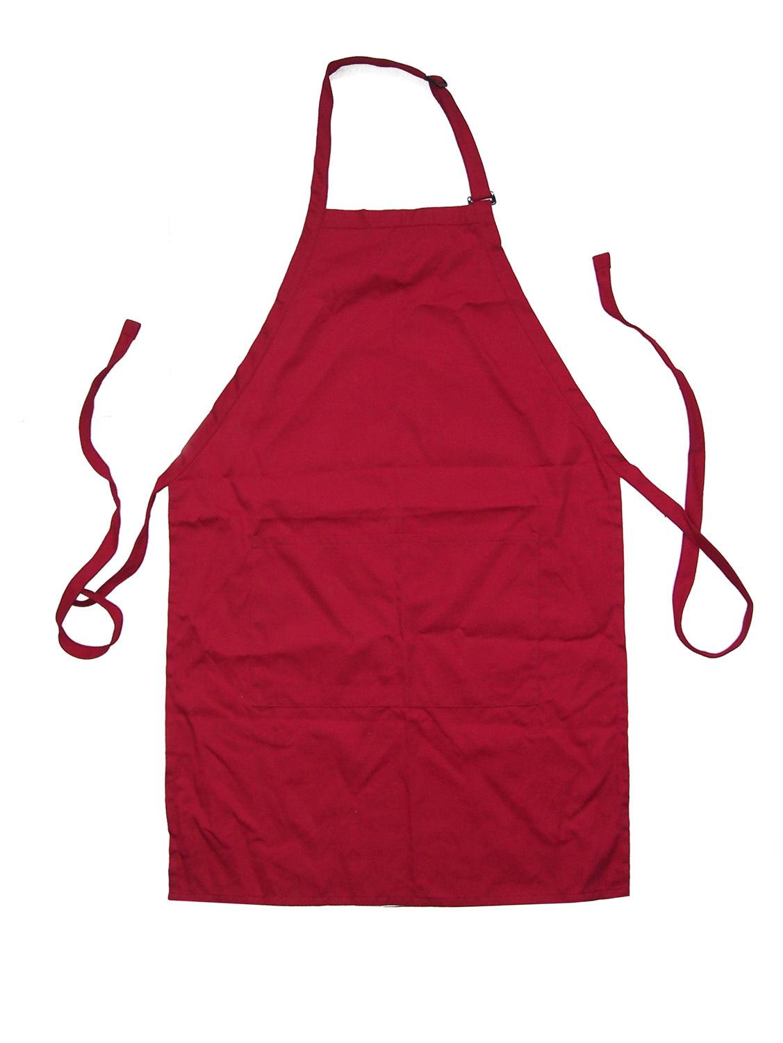 Plain white kitchen apron - Galleries Related White Apron Plain Apron With Pockets