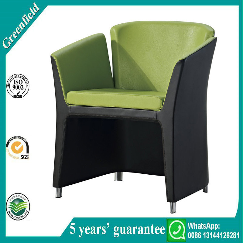 Vinyl Office Sofa Chair for Reception Area