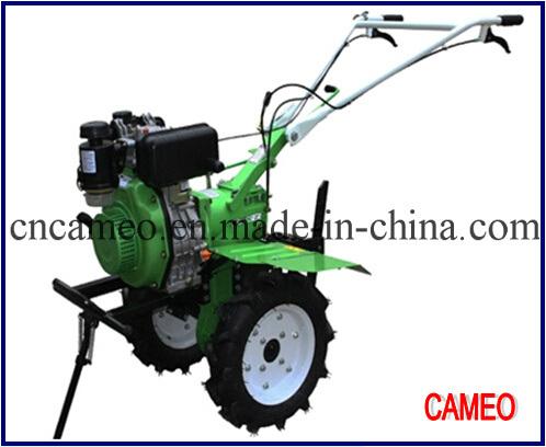 Cp1350b 10.6HP 7.79kw Diesel Tiller Power Tiller Mini Tiller Walking Tiller Small Tiller Garden Tiller Diesel Rotary Tiller