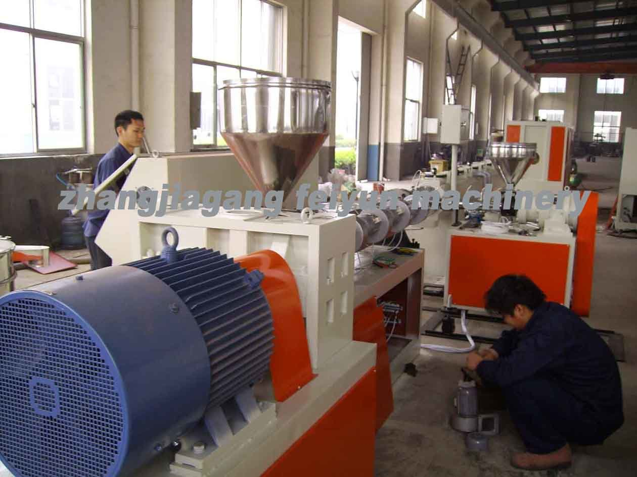 Plastic PVC Pipe Production Line/Extruder Machine
