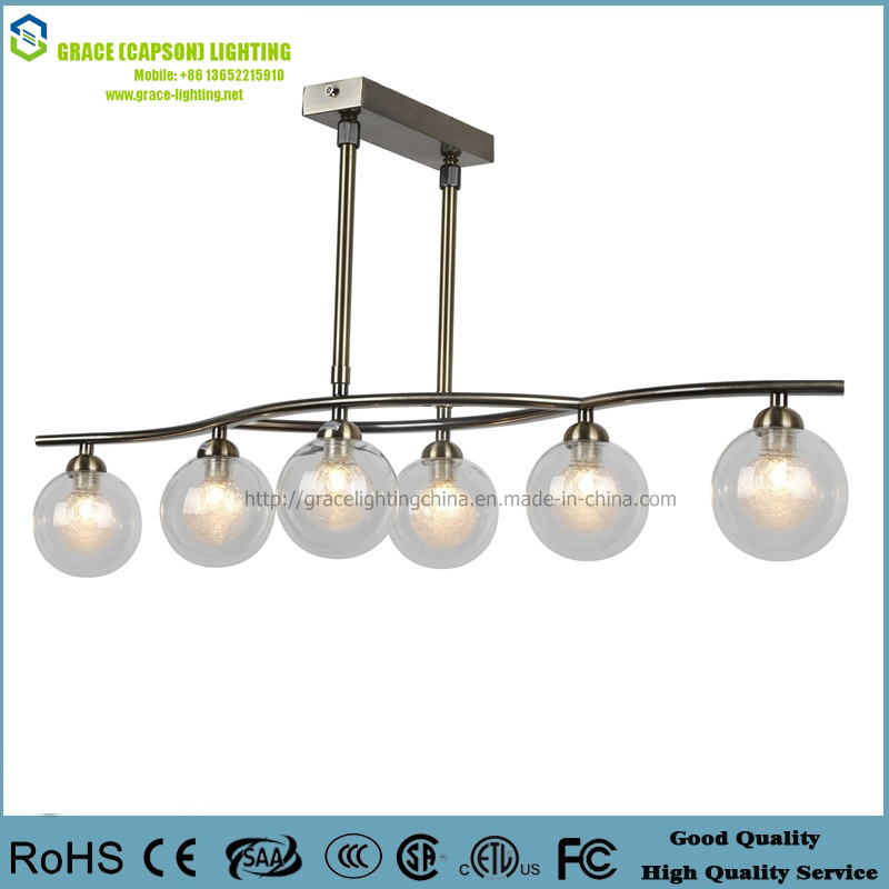 Professional Lamp Manufacturer CE Modern Chandelier (GD-F01A-6)