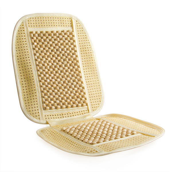 wood bead seat cover