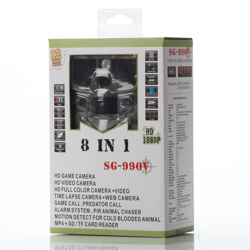 12MP 8 in 1 Trail Camera