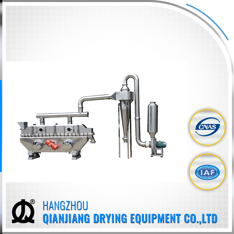 Zlg Model New Condition Vibration Fluidized Bed Dryer