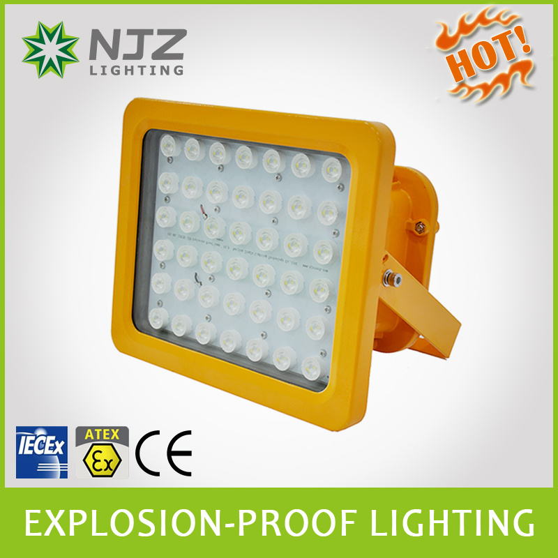 Atex Rated 20W-150W LED Explosion Proof Lighting Fixtures