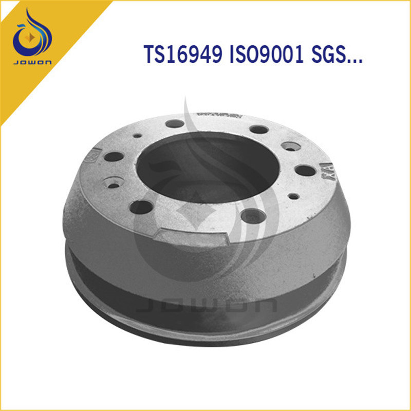 ISO/Ts16949 Certificated Truck Spare Part Iron Casting Brake Drum