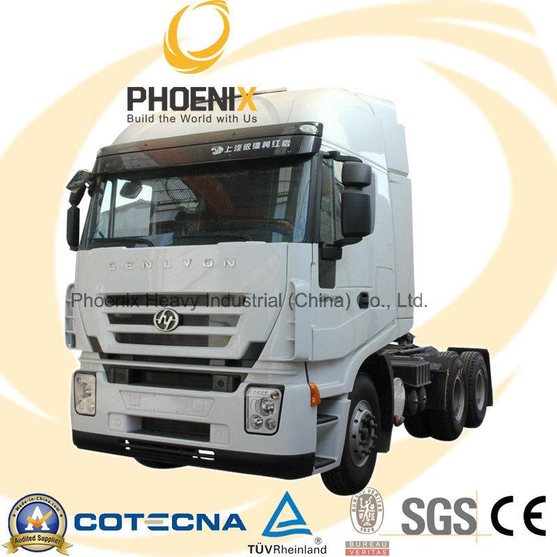 430HP 6X4 Hongyan Iveco Genlyon Tractor Truck Head