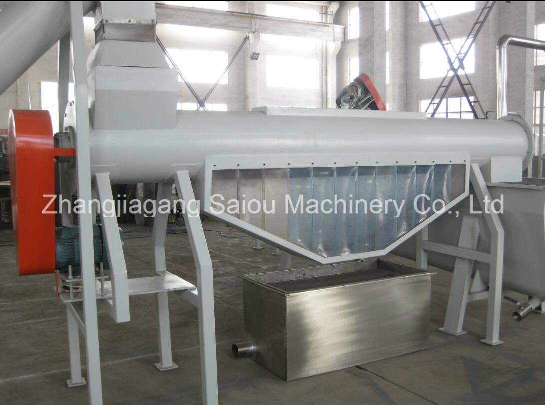 Pet Bottle Crushing Washing Recycling Plant