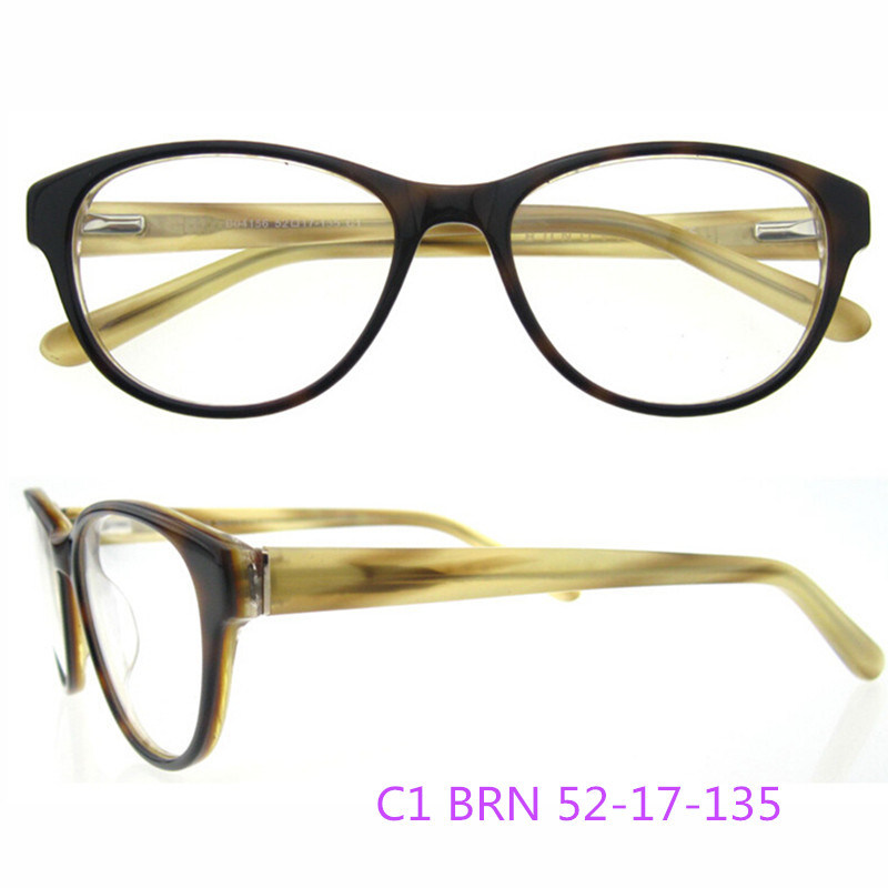 2016 Ready Made New Eyeglass Acetate Optical Frames for Lady Ce FDA Approved No MOQ
