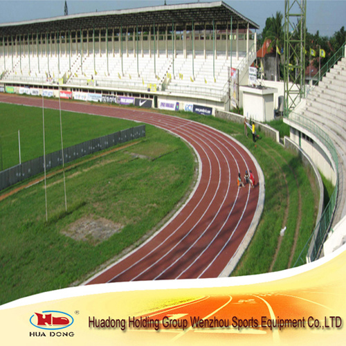 Prefabricated Walkways Running Track Material Rubber Sports Flooring