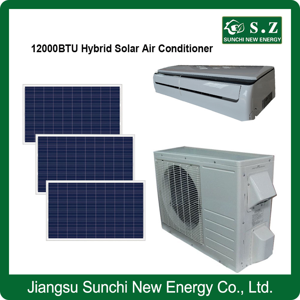 50% Acdc Hybrid Solar Newest Air Conditioner 12000BTU